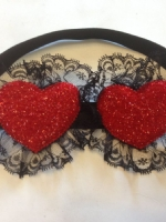 heart eye mask